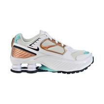 Nike Shox Enigma Women's Shoes White-Black-Spruce Aura BQ9001-100 - $120.00
