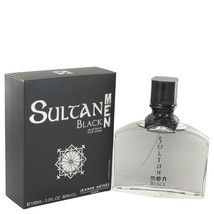 Sultan Black by Jeanne Arthes Eau De Toilette Spray 3.3 oz - $16.95