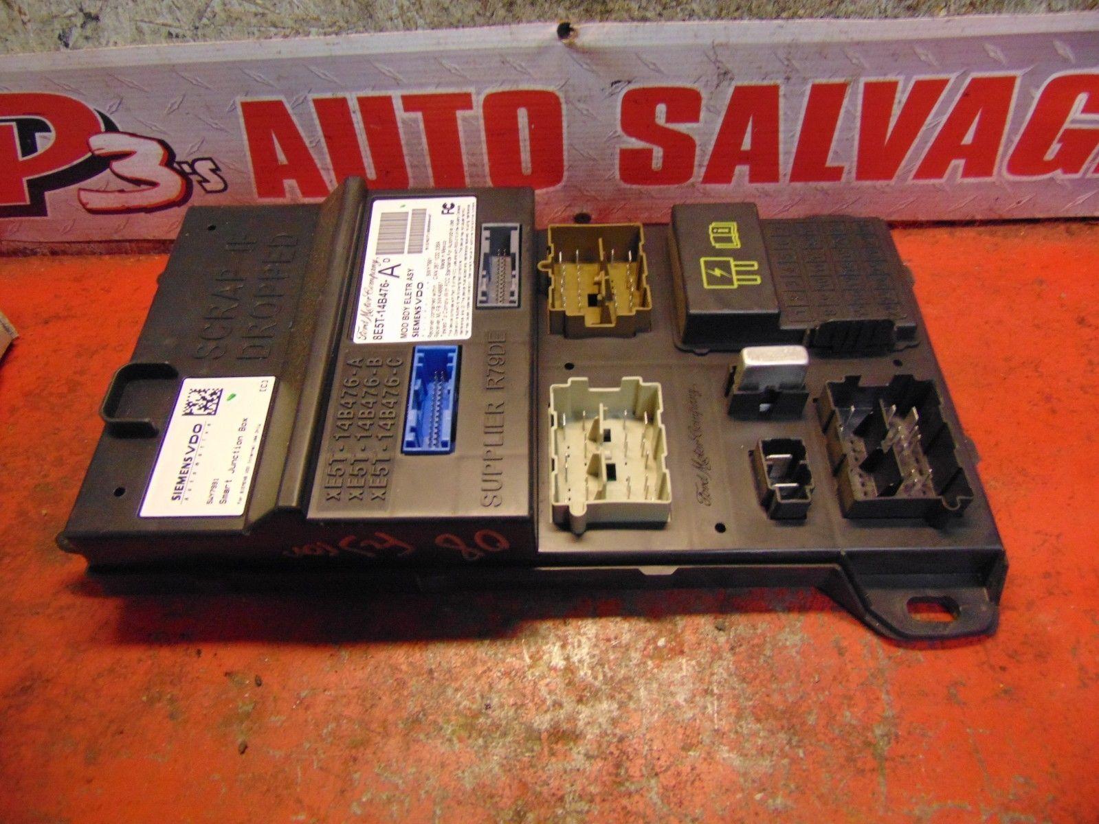 09 08 Ford Fusion Milan Body Control Module Fuse Box Panel