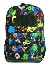 Disney Store Star Wars Backpack Villains Comic Character Print School Ba... - $38.88