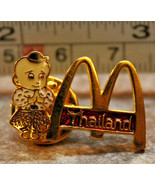 McDonalds Thailand Pray Worship Collectible Pinback Pin Button - $17.49