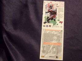 Tampa Bay BuccaneersMike Alstott and Warrick Dunn RB Football Trading Cards AA- image 4