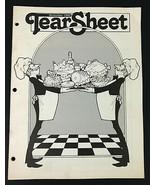 Vintage Tear Sheet Magazine Lot of 11 January through November 1982 - $31.96