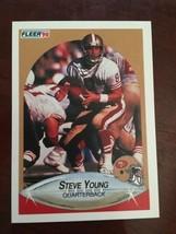 1990 Fleer - Steve Young #17 - $0.99