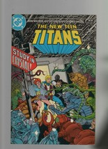 The New Teen Titans #10 - DC Comics - Study in Crystal - July 1985  Marv Wolfman - $1.95