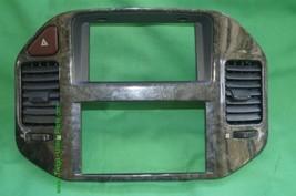 Mitsubishi Montero Limited AC Dash Vents Climate Control Radio Trim Set 03-06