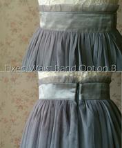 SAGE GREEN Women Tulle Maxi Skirt Sage Green Wedding Tulle Bridesmaid Skirt Maxi image 10