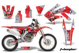 Dirt Bike Decal Graphics Kit MX Sticker Wrap For Honda CRF250X 2004-2017... - $168.25