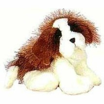 St Bernard Lil'Kinz Dog Puppy HS012 Stuffed Beanbag Animal Plush No Code - $4.74