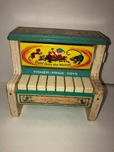 Vintage Rare Change a Tune Piano. 1969. Fisher-Price Toys. - $29.28