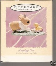 Peeping Out Ornament 1994 Hallmark Easter Collection - $14.69
