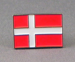 denmark Lapel Pin Badge / tie pin. in gift box enamel finished