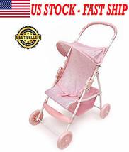 Badger Basket Folding Baby Doll Stroller Christmas Gift Kid Girl Boy Xma... - $36.42
