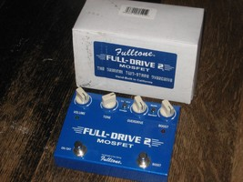 Fulltone Fulldrive 2, #03145 Two Stage Overdrive Boost Hand Wired - $112.20