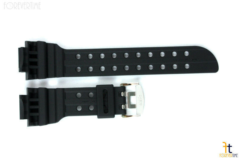 CASIO G-SHOCK FROGMAN GWF-1000 Original Black Rubber Watch BAND Strap GF-1000