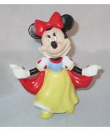 Minnie Mouse Snow White Precious Moments Disney Princess I Am Sweet NWOB Red Bow - $34.91