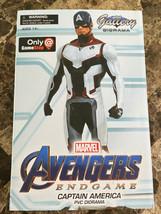 Avengers Endgame Gallery Captain America Figure Statue Diorama New Marvel - $59.39