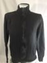 Eddie Bauer Olive Green Zip Up Ture Neck Jacket Long Sleeve Stretch  Size S - $14.95