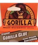 "New Gorilla ""Original"" Gorilla Glue Single Bottle Brown Gorilla Glue 2 F... - $12.29"