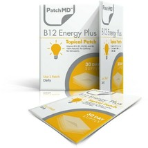 PatchMD B12 Energy Plus Topical Patch - 90 Patches - 3 Pack - Boost Energy - - $42.00