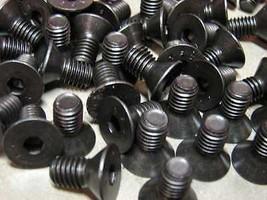 """Flat Cap Screw 3/8-16 x 3/4"""" 10 pcs black oxide - $5.20"""
