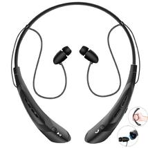 Bluetooth Neckband Headphones with Magnetic Earbuds V4.2 Flexible Wirele... - $15.00