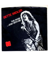 Bette Midler The Rose 45 RPM record with Sleeve - $10.00