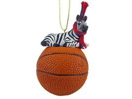 Zebra Basketball Ornament - $17.99