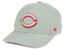 Cincinnati Reds MLB 47 Brand Gray Pop Adjustable Hat - $18.76