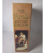 Robert Frederick OUR FAMILY HISTORY and ALBUM GENEALOGY In Slip Case NEW - $18.80