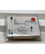 Stampin Up Rubber Stamps Yummy Tag Homemade Food Treats Gifts With Love ... - $19.79