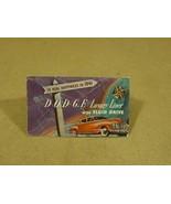 Dodge Vintage 1940s Brochure 19in x 13.5in Yellow/Red Luxury Liner Paper - $20.14