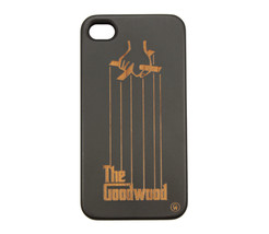 The Good Wood New York NYC Godfather Iphone 4/4S Snap Case