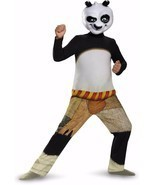 NEW Kung Fu Panda PO Child Halloween Costume by Disguise, size M (7-8 ye... - £15.13 GBP