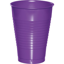 Amethyst 12 oz Plastic Cups/Case of 240 - $55.29