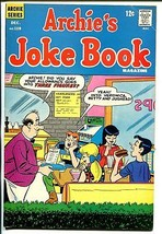 Archie's Joke Book #119 1967-soda shop-ice cream-Betty-Veronica-VG+ - $30.26