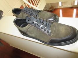 Kenneth Cole , Men's Casual Leather Sneaker , Olive/Black , 10 M , #KMF6... - $65.00