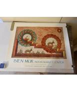 Bien Muir Marketplace Sandia Reservation Print Acoma Antelope Song 1993 - $14.85