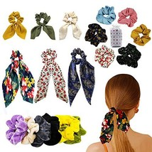Hair Scrunchies,Velvet Elastic Scrunchy Bobble Soft Hair Bands,Chiffon B... - $19.40