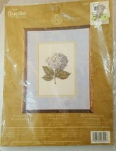 Bucilla Windsor Hydrangea 8x10 #43559 Counted Cross stitch Crafts Sewing New - $23.71
