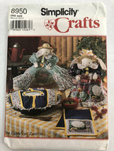 Vintage Simplicity Crafts Sewing Pattern 8950 Bunny Covers Casserole Uncut - $8.99