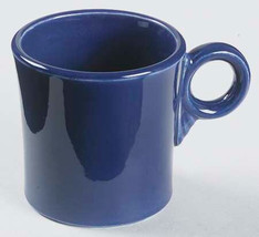 New Fiesta-Cobalt Blue Tom & Jerry Large Coffee Mug Plate by Homer Laughlin - $17.99
