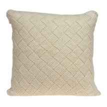 """20"""" x 0.5"""" x 20"""" Beautiful Transitional Beige Accent Pillow Cover - £42.24 GBP"""