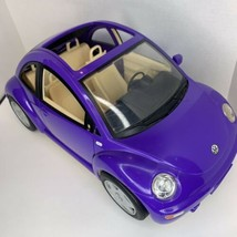 2000 Mattel Barbie Doll Volkswagen Beetle Bug Purple VW Car Missing A Mi... - $24.74