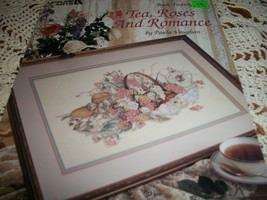 Tea, Roses And Romance Cross Stitch Leaflet 703 - $8.00