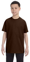 Jerzees Youth Heavyweight T-Shirt - 29B - Chocolate - $2.91