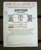 Animation Magazine April 2002 Spiderman & More - $15.00
