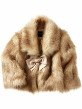 Baby Gap Girls Faux Fur Bolero Jacket Size 5T NEW - $39.99