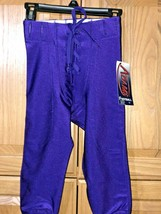 Youth Football Pants Purple XS Game Practice New with Tags  - $4.94