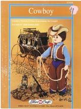 Fibre Craft Cowboy Doll Outfit Crochet Pattern - $5.50